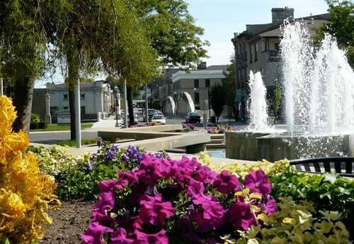 Cambridge Ontario in the Summer