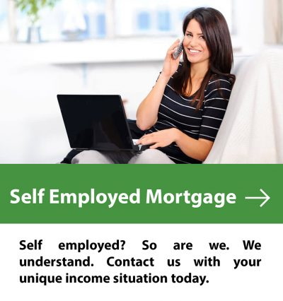 self employed mortgage